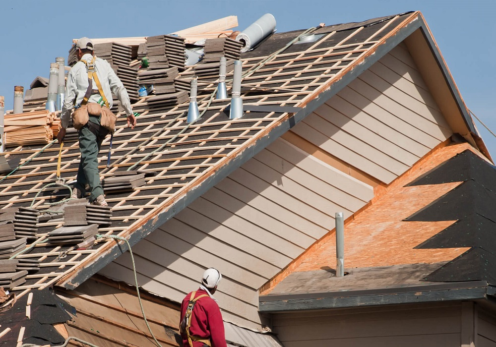 haslet roofing 2